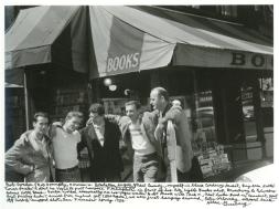 Bob Donlin Neal Cassady Ginsberg Robert LaVinge Ferlinghetti 1956