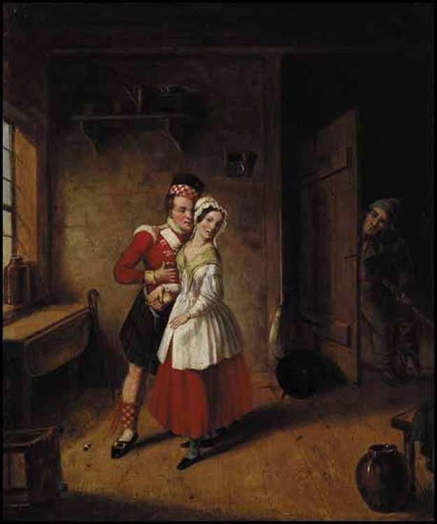 'The_Jealous_Husband',_oil_painting_by_Cornelius_Krieghoff